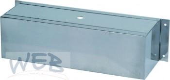 Wandbalken 400mm CR ungeb. (für 6 Hähne)