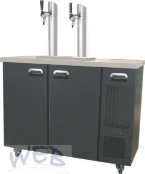 Flexi-Draft Kühltheke FD1 für 4 x 20 l oder 2 x 50 l  Kegs