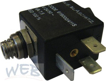Operator-Set zu Magnetventil 08.00330  (Mutter, Plunger, Feder, P