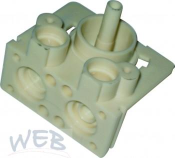 Sondermischblock  für 4 Zuleitungen für z.B gespritzte stille Get