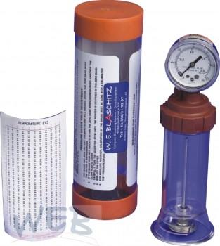Karbonationstester (CO2-Schüttler) Meßgerät CO2