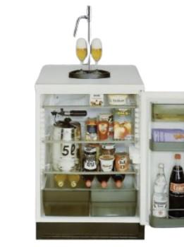 Kühlschrankumbausatz für 5L Partyfässer