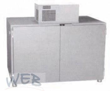 Fasskühlbox für 10 Fässer, Edelstahl