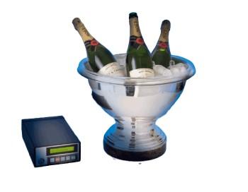 GOLDFLOW VA Champagnermaschine für Schale / ohne Schale