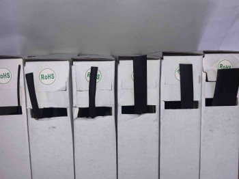 Schrumpfschlauch-Box, 2:1, 5 - 2,3 mm, schwarz, 10 m
