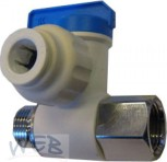 """Wasserhahn - STOPP Ventil Adapter  3/8"""" AVA6713BB"""