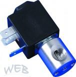 Magnetventil Mini regelbar / Edelstahl 24V / AC, 5 Watt / 1/8
