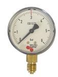 Manometer für Druckminderer d 63 0-6bar