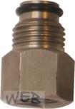 Adapter mit O-Ring, zum Anschluss von CC-Containerventil auf NC S