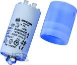 Kondensator 10 µF zu SISME Motor + Abdeckhaube + Verschraubung