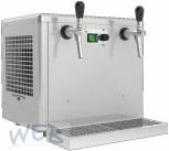 Obertheken - Trockenkühler + Ausschankgerät 2 leitig (5/8HP)