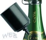 Kolbenpumpe für Champagne-Fresh schwarz