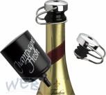 Champagne-Fresh de luxe II verchromt im Geschenkkarton