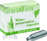 Weinschutzkapseln Stickoxydul 8gr/10er Pack