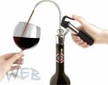 L`Ami du Vin Ausschankkopf, hochglanzverchr. Metallausführung, m.