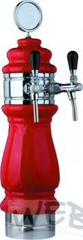 Kopfring Edelstahl 2-ltg. 140mm zu Keramiksäule