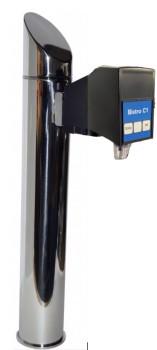 Zapftower GRAZ mit elektrischen Tasten für Soda + Stillwasser