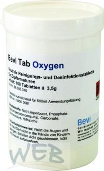 Bevi Tab oxygen neutrales Reinigungs-und Desinfektionsmittel mit