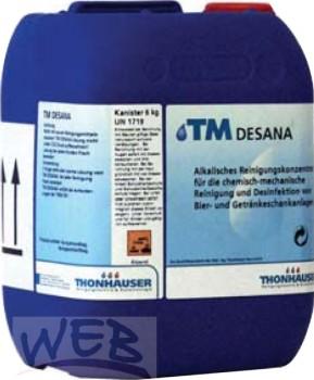 TM DESANA Chlorhältiges alkalisches Reinigungskonzentrat, flüssig