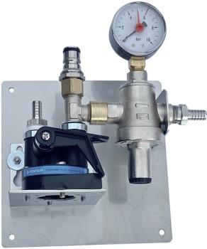 Wasserfilterstation regelbar mit Tankventil, ohne Patrone