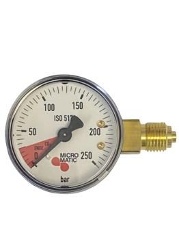 Manometer Vordruckanzeiger  0-250bar