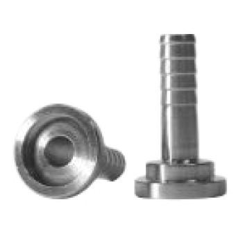 Tülle Edelstahl TDS®-10T1.8, Bund18mm, ger. ID8mm, AD10,2mm