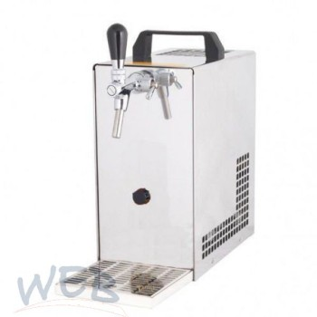 Upper counters dry cooler WEB-25/K + air compressor