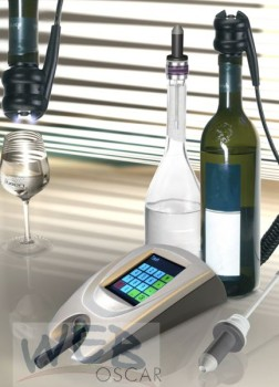 Transponder-All-Bottle-System OSCAR, mit Touch-Display