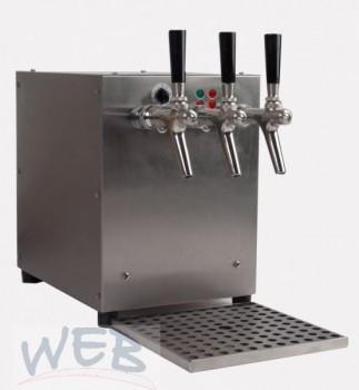 Glühweinerhitzer 9KW / 3-ltg / + Luftkompressor