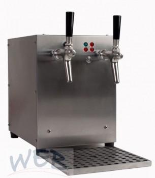 Getränke-Durchlauferhitzer 9KW/ 2-ltg Edelstahl OH Luftkompressor