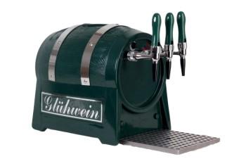 Glühweinerhitzer 9KW / 3 ltg / + Luftkompressor / Fassform