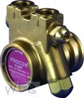 Procon-Messing-Pumpe 131A100F11GA m.Filter, OH.Klemmring