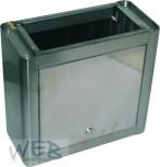 SOCKEL für Schankkopfgehäuse 255x280x130mm  (hxbxt)