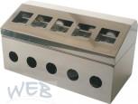 Zapfsäulenoberteil für 4 Mikro-Touch + 4 Hähne mit Aufbausatz