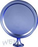 Chrome plated medaillon screwable