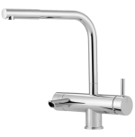 3-way fitting suitable for carbonated water + cold and hot water