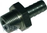 "Adaptor Stainless Steel 6 mm 3/8"""