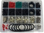 Assortment box container and KEG spare parts / 1025 pcs.