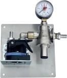 Wasserfilterstation / Tafelwasser-Filteranlage ohne Tankventil