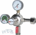 Primary Pressure Regulator 2-lines CO2 for 7 bar / Micro Matic