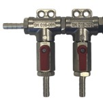 Wall-mounted distributor, 2 lines 4x IG 1/4""