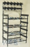 BAG-IN-BOX RACK Metro Style incl. Accessory PN 94-484-01