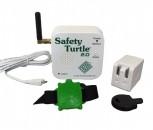 Safety Turtle Starter kit including base & green bracelet 2.0