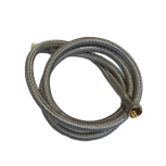"Wire fabric hose EPDM DN8 stainless steel 3/8"" - 3/8"" / 150cm"