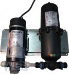 Wasser-Booster-System  inkl. Pumpe und Akkumulator (1l)