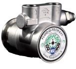 """Fluid-o-Tech-Pumpe, 300 Liter, Edelstahl, 2 x IG 3/8""""+Plastikkupl"""