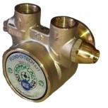 """Fluid-o-Tech brass pump 300 lph / 2 x IG 3/8"""" NPT"""