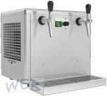 Obertheken - Trockenkühler + Ausschankgerät 2 leitig (1/2HP)
