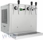 Obertheken - Trockenkühler + Ausschankgerät 3 leitig (5/8HP)