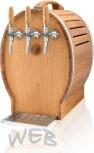 Oak Barrel dry cooler WEB-EF50 (2 coils chilled)